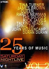 Saturday Night Live - 25 Years of Music Vol. 2 u.a Queen, Tina Turner, Duran Dur
