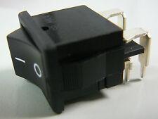 NKK Rocker Switch DPST 6A 250V p/n CWSB21AA2H