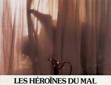 SEXY MARINA PIERRO LES HEROINES DU MAL 1979 BOROWCZYK VINTAGE LOBBY CARD #4