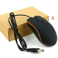 Optical USB LED Wired Gaming Mouse For PC Laptop Computer Scroll Wheel Mice DP