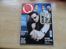 Q MAGAZINE 170 NOV 2000 RADIOHEAD U2 MUSE SGT. PEPPER BEATLES SINEAD O'CONNOR