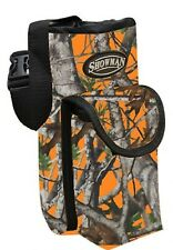 ORANGE CAMO Insulated Nylon Bottle Carrier Horn Bag Trail Riding NEW Horse Tack