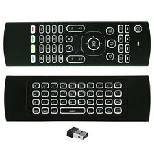 Backlit MX3 2.4G Air Mouse Wireless Qwerty Keyboard IR Remote Control Controlle