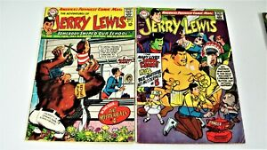 The Adventures of Jerry Lewis-Silver Age/Bronze Age- 8 Book Lot