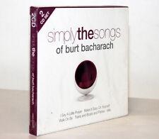 SIMPLY THE SONGS OF BURT BACHARACH [2 CD SET / 2009] 698458022028
