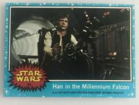 1977 Topps Star Wars-Han Solo in the Millennium Falcon Topps #30