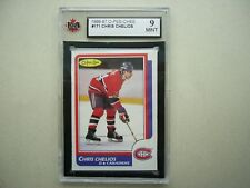 1986/87 O-PEE-CHEE NHL HOCKEY CARD 171 CHRIS CHELIOS KSA 9 MINT SHARP+ 86/87 OPC