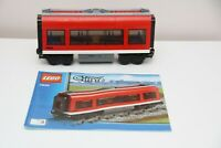 LEGO 7938 Passenger Train Middle Carriage With Instructions