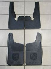 DODGE RAM FRONT/REAR Heavy Duty Rubber Mud flaps w/o Fender Flares NEW OEM MOPAR