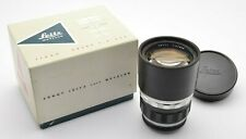 Leitz Leica Telyt 4 / 200 mm Tele Objektiv 11063 Lens Visoflex M39 + OVP u08