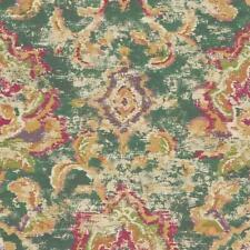 375113 - Sundari Ikat Design Yellow Pink Orange Purple Eijffinger Wallpaper