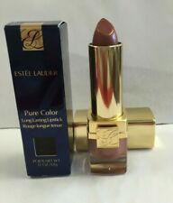 Estee Lauder BEIGE SHIMMER 12 Pure Color Long Lasting Lipstick NIB Retail Full 1