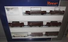 Roco H0 44003 _ 8 x DRG Güterwagen im Set , Epoche II _ NEU