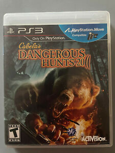 Cabela's Dangerous Hunts 2011 for Sony PS3 / PlayStation 3