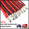 Soft flexible silicon wire high temperature 1M black 1M red for RC toy Car Boat