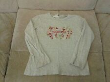 H&M Crew Neck Cotton Blend Long Sleeve Girls' T-Shirts & Tops (2-16 Years)