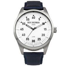 New Men's Watch Ben Sherman Watch WB031U Men's Wristwatch