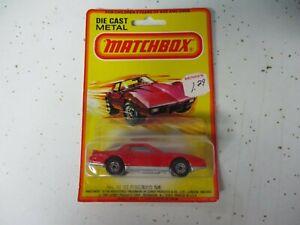 Matchbox Lesney Superfast SF12 Pontiac Firebird SE, blistercard