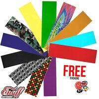"Skateboard Griptape, Every Colour! PRE-CUT 9"" x 33"" Universal Fit"