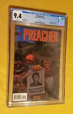Preacher #2 CGC 9.4 NM (white pgs.) - First app. Arseface, the saint of killers.