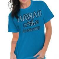 Hawaii State Pride T Shirt State Flag USA Hibiscus Gift Ideas T-Shirt Tee