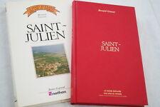 SAINT JULIEN BORDEAUX LE GRAND BERNARD DES VINS DE FRANCE GINESTET ILLUSTRE 1984