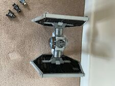 Lego Star Wars 9492 TIE Fighter with instructions and characters. Semi complete.