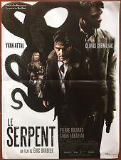 Affiche LE SERPENT Eric Barbier YVAN ATTAL Clovis Cornillac 40x60cm *D