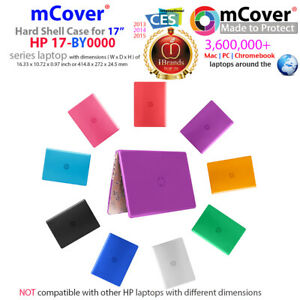 """NEW mCover® Hard Shell Case for 17-inch 17"""" HP 17-BYxxxx series Windows laptop"""