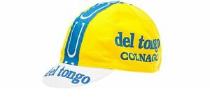 Del Tongo Colnago vintage cap ( cycling team bike bicycle Tour de France  )