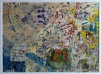 Giulio Cesare Matusali - Tecnica mista su cartone, opera originale del 2015