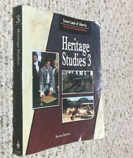 BJU Bob Jones 3rd grade - HERITAGE STUDIES 3 (2nd Edition) Student Text