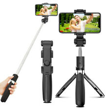 Telescopic Monopod Tripod Bluetooth Remote Shutter Selfie Stick For Mobile Phone