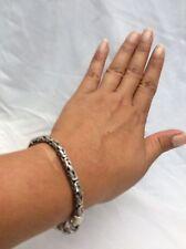 Gorgeous BA Suarti Bali Indonesia sterling 925 Byzantine Bracelet