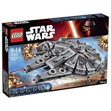 Lego Star Clone Wars 75105 Millenium Falcon TM Chewbacca Rey Finn Han Solo NEW