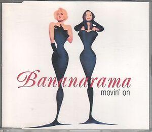 Bananarama  CD-SINGLE  MOVIN ON (c) 1992