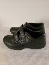 Propet Life Walker Mens Black Leather Diabetic Walking Shoes Size 11 M (D) M3715