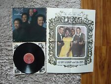 Gladys Knight & THE pips 2nd ANNIVERSARIO 1975 VINILE LP CON POSTER 1st STAMPA A/B