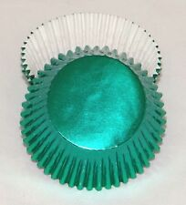 Set of 100 Standard Green Foil Baking Cups, New Sealed Cupcake Liner BCF-04-100