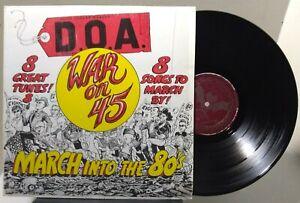 D.O.A. War on 45 - ALTERNATIVE TENTACLES VIRUS 24 - REISSUE