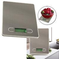 Digital Cocina Balanza 5g-5000g Electrónico Pantalla LCD Escala Comida Peso