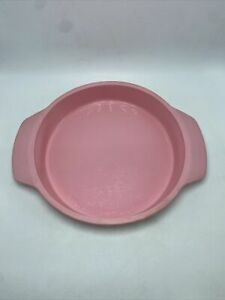 "Calphalon Silicone Bakeware Pink Round Handles 9"" Width 2"" Depth"