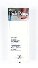 Safe-T-Strips Non-Slip Safety Applique Mat Stickers Bath Tub & Shower White New