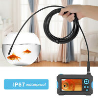 Borescope Inspection Camera with LCD Monitor Screen and Video Recording H8P6