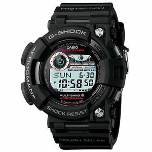 Casio G-Shock GWF1000-1 Frogman Black Resin Watch Atomic Solar 53MM BRAND NEW