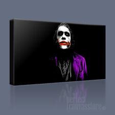 JOKER HEATH LEDGER BATMAN DARK KNIGHT CANVAS POP ART PRINT PICTURE Art Williams