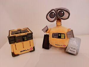 RARE  Dinsey Wall-E Transformer Cube Thinkway Toys Pixar Store & BNWT Plush