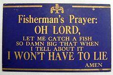 Vintage 1950s Fisherman'S Prayer