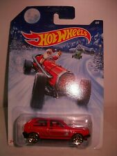 HOT WHEELS HOLIDAY VOLKSWAGEN GULF  CAR ON CARD