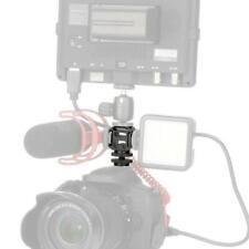 Ulanzi Camera 3 Hot Shoe Mount Adapter Mic Mini LED Camera Light Video For U7T3